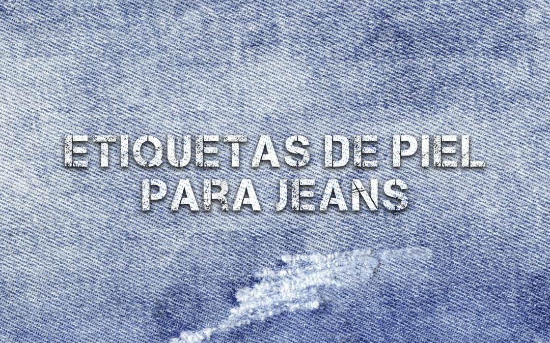 ETIQUETAS DE PIEL PARA JEANS